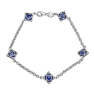 Bling Jewelry Sterling Silver Round Blue Evil Eye Bracelet|https://ak1.ostkcdn.com/images/products/is/images/direct/9ce064eb5490a5a92fdf6679ffcbfe85b480d18b/Bling-Jewelry-Sterling-Silver-Round-Blue-Evil-Eye-Bracelet.jpg?impolicy=medium