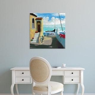 Easy Art Prints Rick Novak's 'Conch Republic VI' Premium Canvas Art
