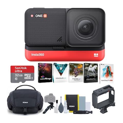 Insta360 ONE R 4K Camera Edition Complete Content Creation Bundle