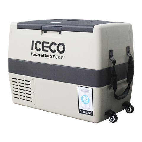 ICECO TR60/45 Portable Refrigerator Freezer, Freezes Up to -0.4 degrees, Powered by SECOP