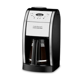 Grind and Brew 12 cup Coffee Maker Black Grind and Brew Thermal 12-Cup Automatic Coffeemaker
