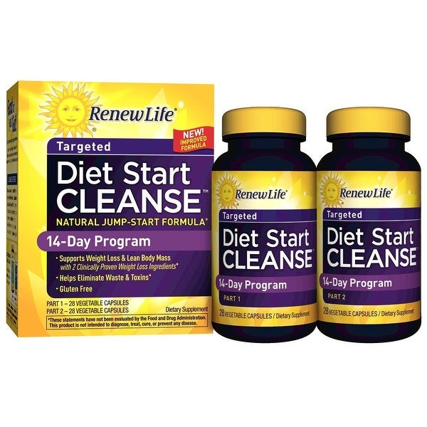 Renew Life Diet Start Cleanse 14-Day Program - Supports Weight Loss