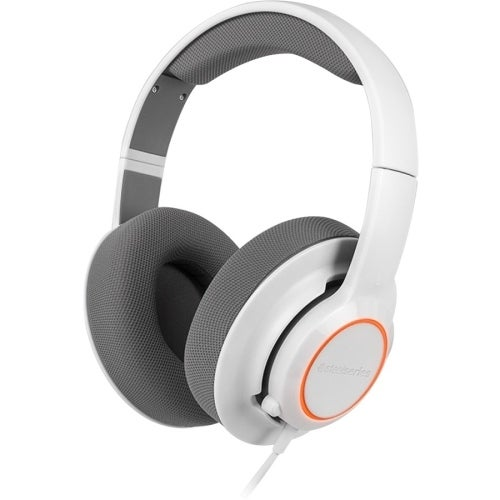 """SteelSeries 61410 SteelSeries Siberia Raw Prism Gaming Headset - Stereo - White - USB - Wired - 32 Ohm - 20 Hz - 20 kHz -"