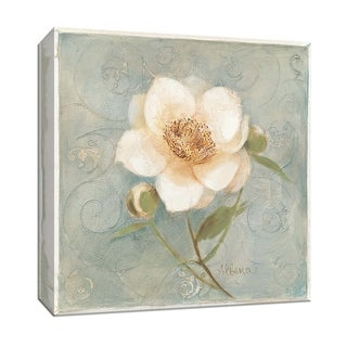 "PTM Images 9-152519  PTM Canvas Collection 12"" x 12"" - ""Pretty Peony"" Giclee Peonies Art Print on Canvas"