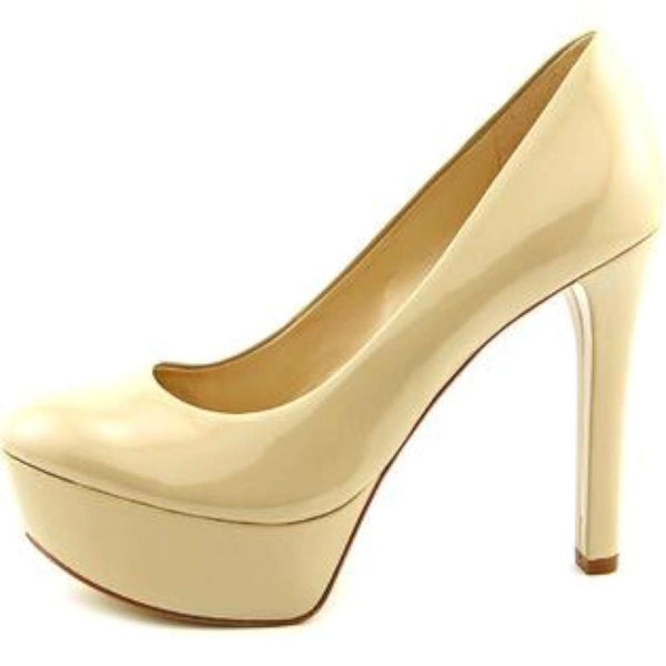 GUESS Womens ETTE2 Closed Toe Platform Pumps