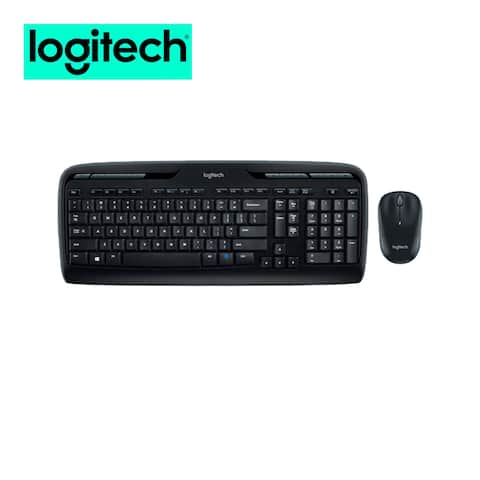 Logitech MK320 Wireless Mouse and Keyboard Combo for Computers Laptops Bundle