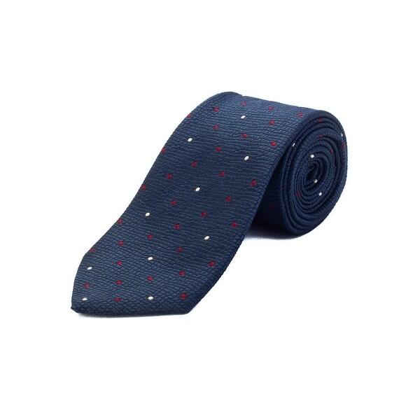 8f476d85 Ermenegildo Zegna Men's Silk Polka Dot Tie Blue - No Size