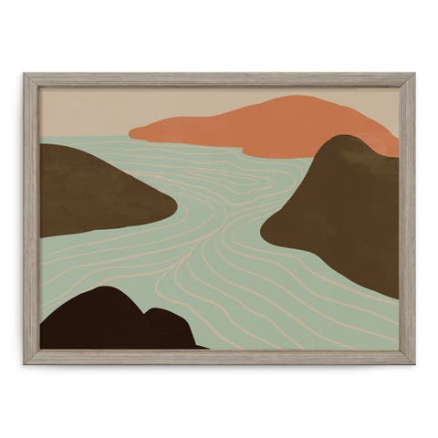'Summer Nomad II' Framed Print Wall Art by ChiChi Décor