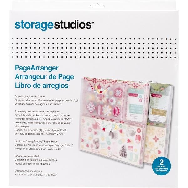 "Storage Studios Paper Arranger 2/Pkg-12.75""X13"""