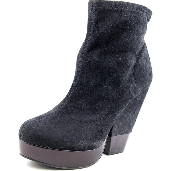 BCBGeneration Kimba Women Round Toe Suede Ankle Boot