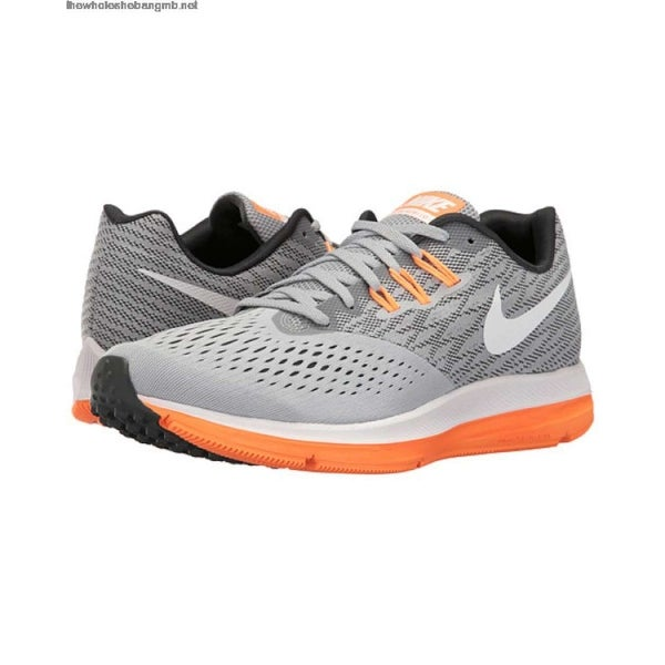 8aaa885034ca9 Nike Mens Nike Zoom Winflo 4 Mens Low Top Lace Up Trail Running Shoes - 11.5