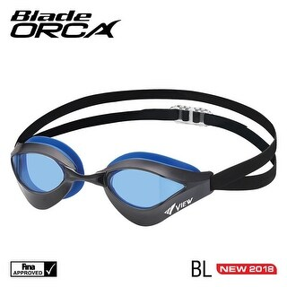 VIEW Swimming Gear V-230 Blade Orca Racing Goggle