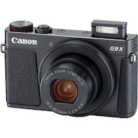 Canon PowerShot G9 X Mark II Compact Digital Camera (Black)