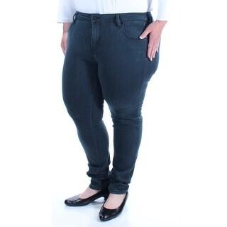 CELEBRITY PINK Womens New 1156 Green Skinny Casual Pants 17 Juniors B+B