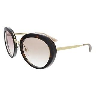Prada PR16QS 2AU1L0 Havana Round Sunglasses