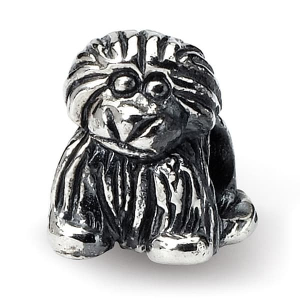 Sterling Silver Reflections Kids Puppy Bead (4mm Diameter Hole)