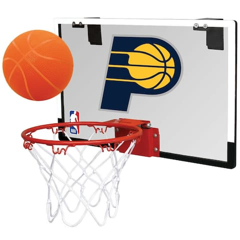Rawlings NBA Game On Basketball Hoop and Ball Set (Indiana Pacers)