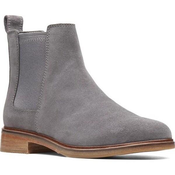 Clarkdale Arlo Chelsea Boot Grey Suede