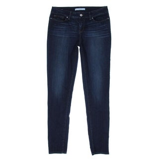 Yummie by Heather Thomson Womens Denim Mid-Rise Skinny Jeans