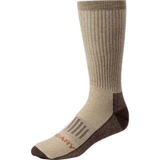 Legendary Whitetails Men's HuntGuard Nanotec Merino Wool Crew Sock - Khaki