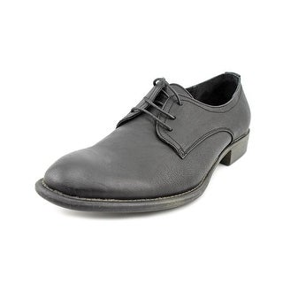 Unlisted Kenneth Cole House Music Men  Round Toe Synthetic Black Oxford