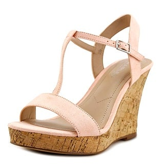 Charles By Charles David Libra Women  Open Toe Leather  Wedge Sandal