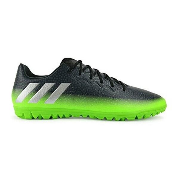 Adidas Mens Messi 16.3 Tf, Dark Grey/Metallic Silver/Neon Green