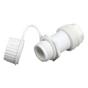 Igloo 24011 Threaded Drain Plug For Igloo Ice Chest, White