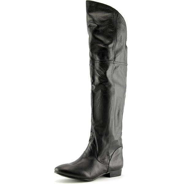 Chinese Laundry South Bay Round Toe Leather Over the Knee Boot