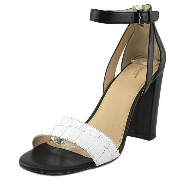 Botkier Gianna Women Open Toe Leather White Sandals