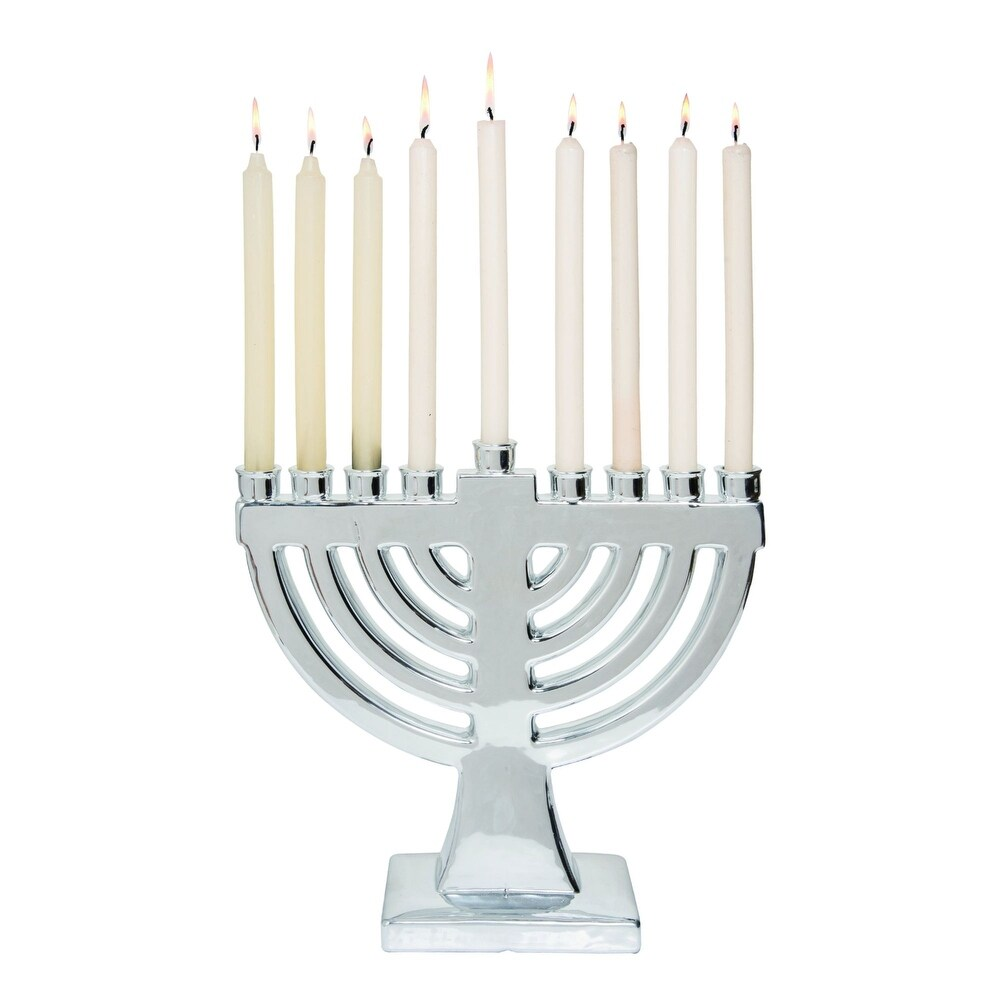 Hanukkah Menorahs and Candles