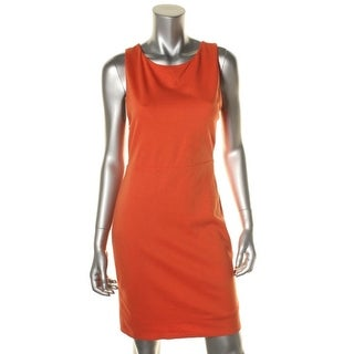 Alice + Olivia Womens Ponte Cut Out Back Cocktail Dress - 4