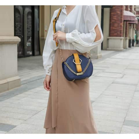 Mkf Collection Melly Colorblock Crossbody By Mia K