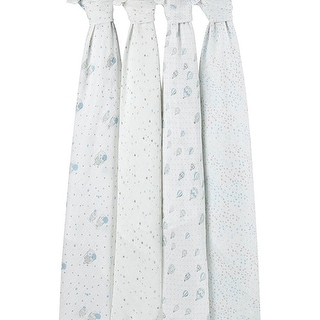 Aden Anais Night Sky 4-Pack of Swaddles Swaddle 4 Pack
