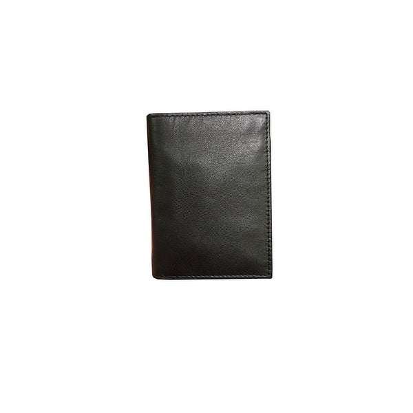 Danbury Western Wallet Mens Genuine Leather Stitch Trifold - One size