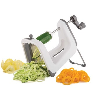 Progressive International PL8 Professional Spiralizer, White