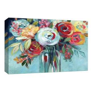 """PTM Images 9-148166  PTM Canvas Collection 8"""" x 10"""" - """"Perfectly Arranged II"""" Giclee Flowers Art Print on Canvas"""