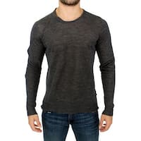 Costume National Gray wool crewneck sweater