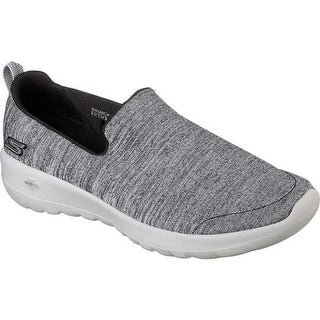 Skechers Women's GOwalk Joy Enchant Slip-On Walking Shoe Black/Gray