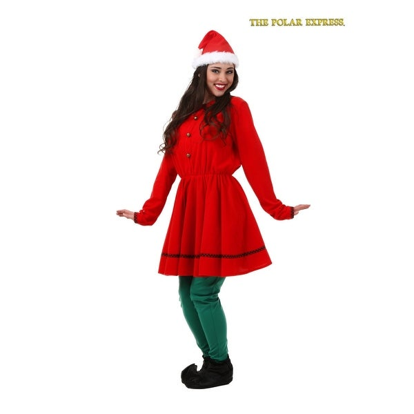 Adult Polar Express Elf Costume