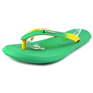 Rider Brazil Men Open Toe Synthetic Green Thong Sandal