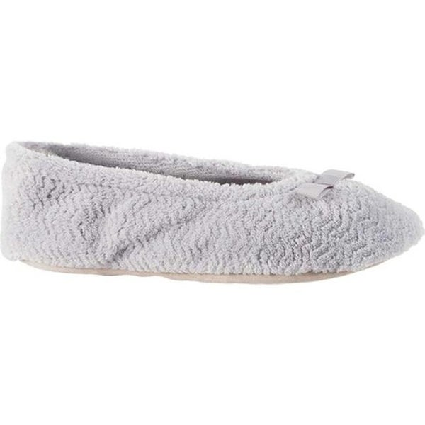 59e27197886 Shop Isotoner Women s Chevron Microterry Ballerina Slipper Periwinkle Terry  Cloth - On Sale - Free Shipping On Orders Over  45 - Overstock - 19437528