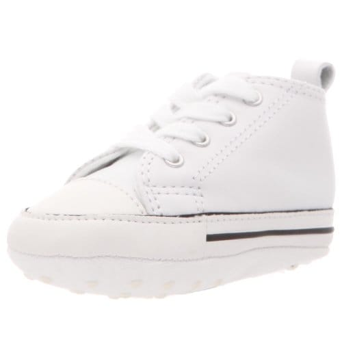 Converse Infant First Star - White Leather-4 INFT