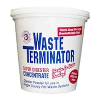 "Hueter Toledo Waste Terminator 1 Year Supply 4.5"" x 4.5"" x 4.625"""