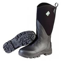 Muck Boots Black Mens Muck Grit Work Boot w/ Rubber Cup Outsole -  Size 7