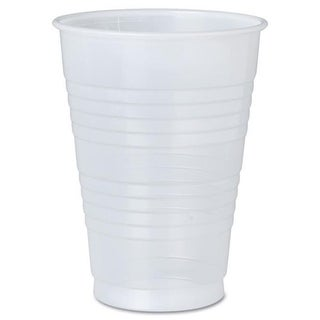 5 oz Disposable Translucent Lightweight Plastic Cups, Case of