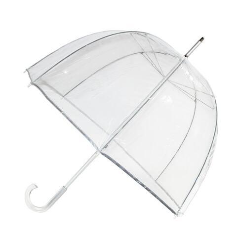 Totes Classic Clear Dome Bubble Umbrella - one size