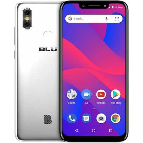 BLU R2 Plus (2019) R0210WW 16GB Dual SIM GSM Unlocked - Silver (Certified Refurbished)