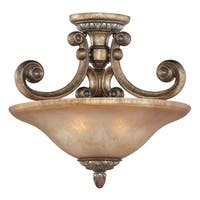 Dolan Designs 2405 Semi-Flush Ceiling Fixture from the Carlyle Collection - verona - n/a