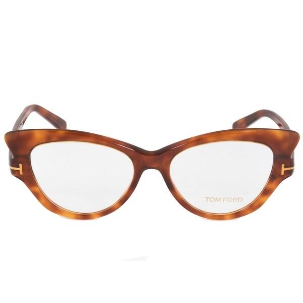 cfc4d564189e Shop Tom Ford FT5269 52 Cat Eye | Tortoise| Eyeglass Frames - Free ...